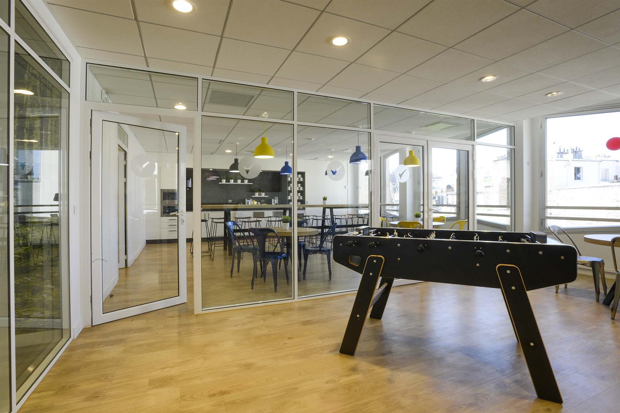Ecovadis afcb agencement d 39 espaces professionnels - Agencement bureau design ...