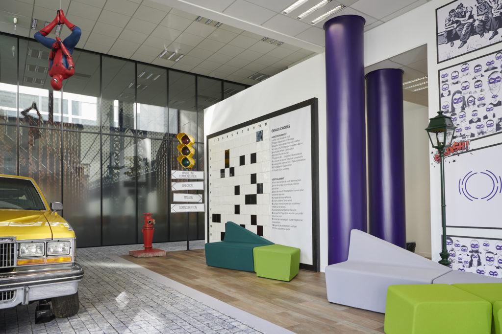 La décoration comme vitrine de l'entreprise