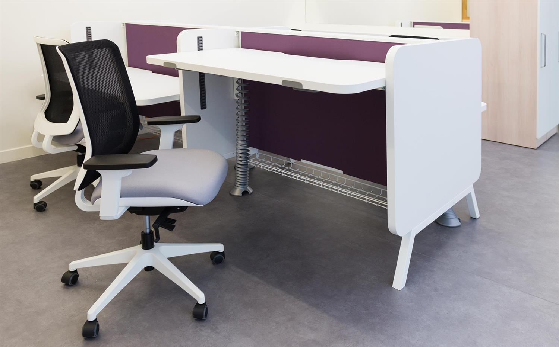 mobilier de bureau professionnel assis debout. Black Bedroom Furniture Sets. Home Design Ideas